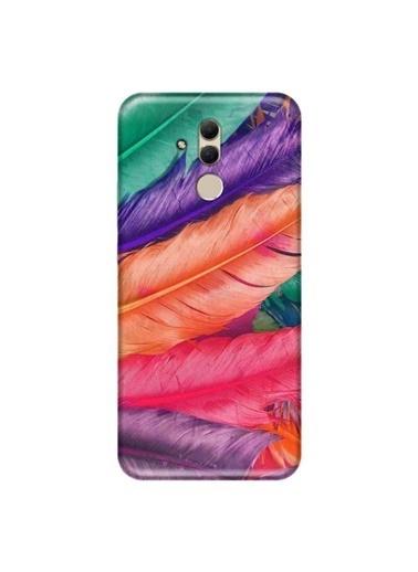 People's Cover Mate 20 Lite Baskılı Telefon Kılıfı Renkli